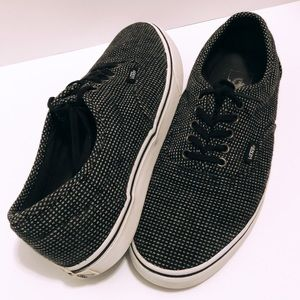 rare VANS Off The Wall Shoes Knit Micro Pl…